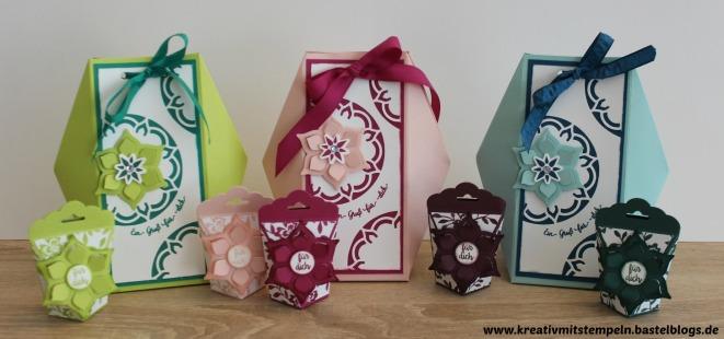 Geschenktüte mit dem Set Orient Palast, Stampin up